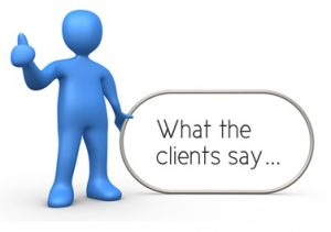 what-the-clients-say